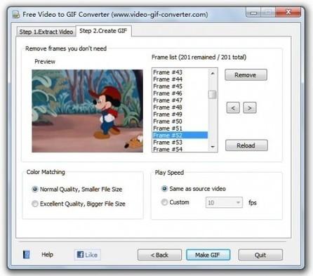 Création d'un GIF animé depuis une vidéo, Free Video GIF Converter   Ballajack   Time to Learn   Scoop.it