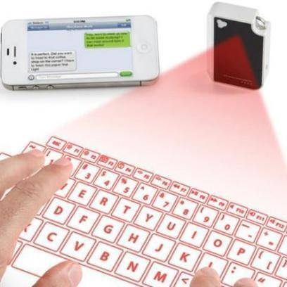 Pocket-Sized Virtual Keyboard Projects Onto Any Surface [VIDEO] | Gear, Gadgets & Gizmos | Scoop.it
