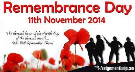 Lest we forget - The Remembrance Day | My Assignment Help Info : Review and Subjects | Scoop.it