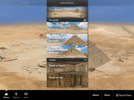 Explore Ancient Pyramids With Virtual Field Trip | Tech Learning | Archaeology | Scoop.it