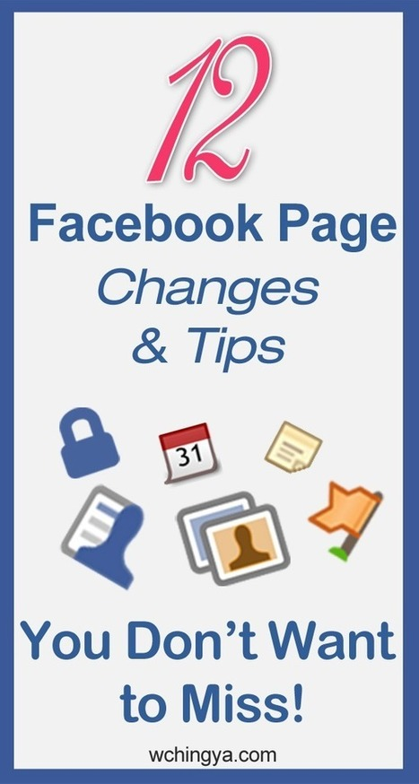 12 Latest Facebook Page Features You Might Have Missed | Social @ Blogging Tracker | SM4NPFacebook | Scoop.it