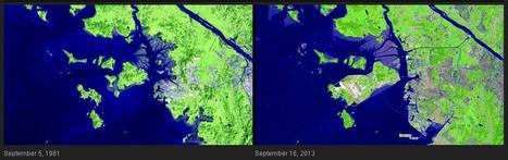 La Nasa publica 285 imágenes del devastador paso del ser humano por el planeta | Periodismo Científico | Scoop.it