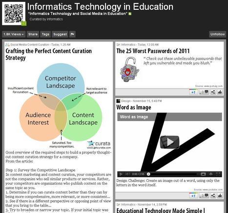 Εκπαιδευτική Τεχνολογία & Πληροφορική - 11+ Ελληνικά Scoop.it για την Πληροφορική και τις Νέες Τεχνολογίες στην Εκπαίδευση | Best of GR-blogs | Scoop.it
