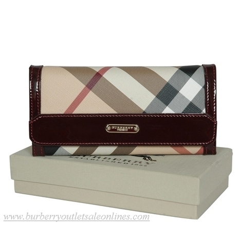 Burberry Classic New Grid Purses Darkred [B004085] - $118.00 : Burberry Outlet Stores,Burberry Outlet Online,Cheap Burberry For Sale | Burberry Oultet | Scoop.it