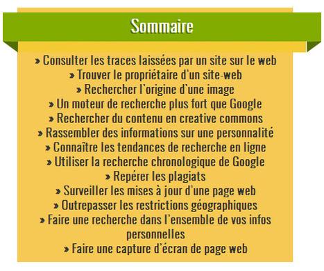 20 outils gratuits pour fouiller le web à la recherche d'informations | François MAGNAN  Formateur Consultant | Scoop.it