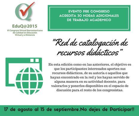 """Proyecto """"Red de catalogación de recursos didácticos""""   Investigaciones en TIC, y educación a distancia   Scoop.it"""