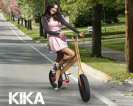 Kika, le mélange des genres - Vélo et Design | La technologie au collège | Scoop.it