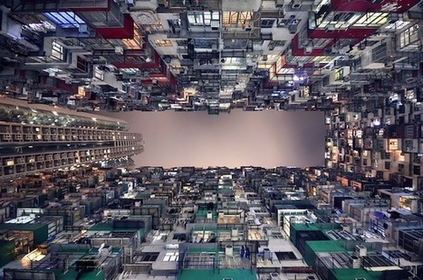 Explore Hong Kong's 'Vertical Horizon' in these reverse-vertigo inducing photos | The urban.NET | Scoop.it
