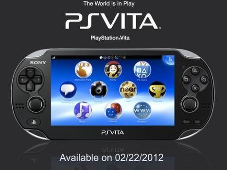 PlayStation Vita : arrivée prévue le 22 février 2012 | firefox-comicsandgeek | Scoop.it