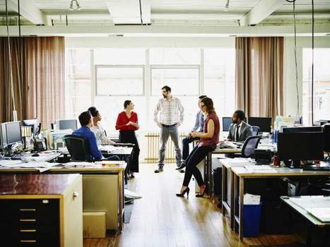 Americans Are Running Out of Office Space   Collaborative, Productive and Innovative Workspaces   Scoop.it