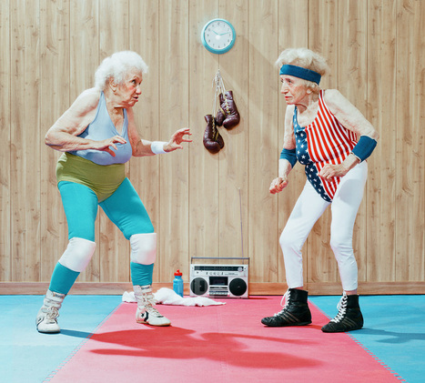 grandparents get their game on in the golden years series by dean bradshaw | What's new in Visual Communication? | Scoop.it