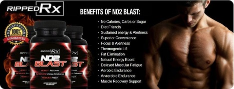 Ripped RX NO2 Blast Review - Claim NO2 Blast Trial Bottle Online NOW !! | Health | Scoop.it
