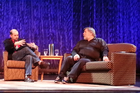 Steve Wozniak on Galaxy Gear, Google Glass, & Future of Wearables - Xconomy | Tips and feedback for geeky entrepreneurs | Scoop.it