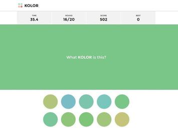 Kolor. Un jeu pour en voir de toutes les couleurs - Allweb2 - Les Outils du Web | TIC et TICE mais... en français | Scoop.it
