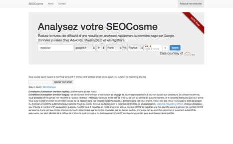 SEO Competition Calculator | Web design et bonnes pratiques | Scoop.it