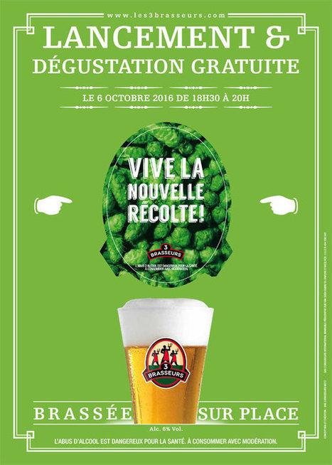 Lancement de la Bière de la Récolte des 3 Brasseurs | Malts et Houblons, le site des passionnés de bière et de whisky | Gastronomie et plaisirs gourmands | Scoop.it