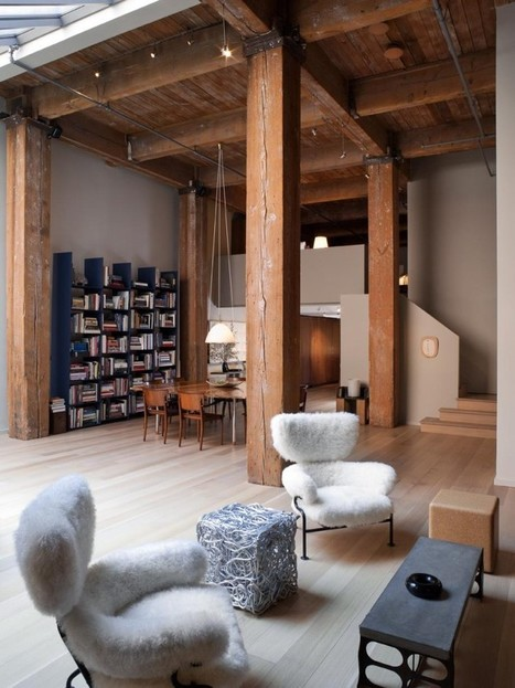 Warehouse Conversion in San Francisco | Raw and Real Interior Design | Scoop.it