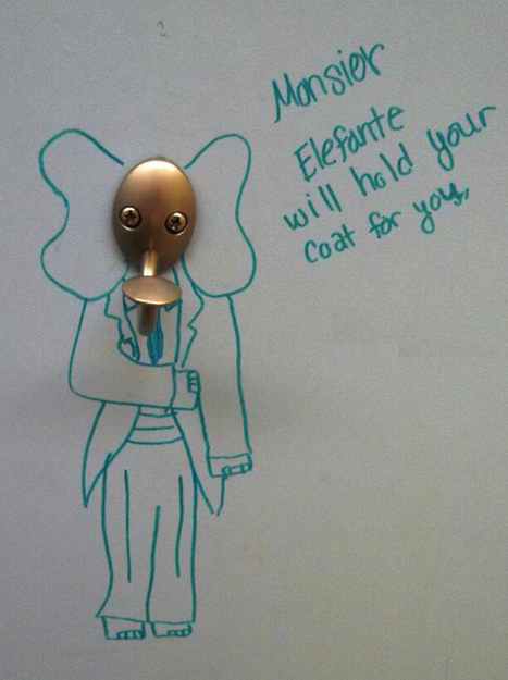 These genius examples of public loo graffiti show toilet humour at its best | Strange days indeed... | Scoop.it