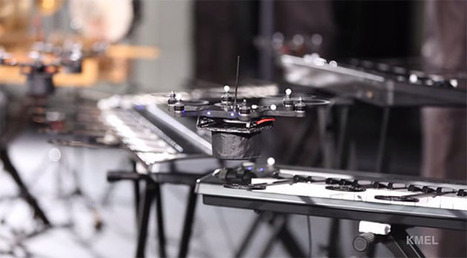 Hail HAL 9000: An orchestra of drones plays the 'Space Odyssey' theme | Heron | Scoop.it