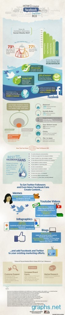 Social Media ROI Statistics/Graph | Graphs.net | Marketing&Advertising | Scoop.it