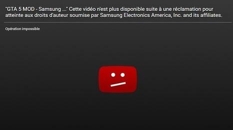 Sur YouTube, Samsung censure une vidéo qui se moque du Note 7 | La Boîte à Bazar d'A3CV | Scoop.it
