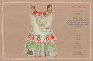 NWT, Girls Lioness Frilly Dress, Sizes,2,3,4,5T,100% Cotton | Classic Range | Scoop.it