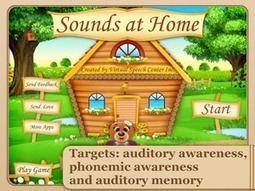 Sounds at Home App | Speech and Language Therapy Apps | Scoop.it