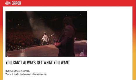 Et si la page 404 devenait une opportunité de construire une meilleure relation avec ses clients ?   Be Marketing 3.0   Scoop.it