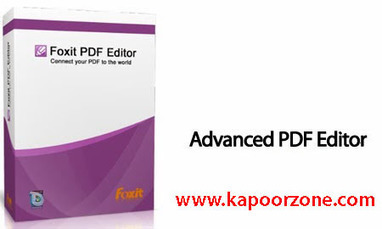 Foxit Advanced PDF Editor Version 3.10 Full Crack Free Download - Kapoor Zone | Kapoor Zone | Scoop.it