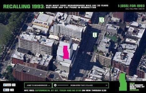 «Recalling 1993″: le New Museum diffuse ses commentaires dans des cabines téléphoniques à remonter le temps | innovation veille | Scoop.it