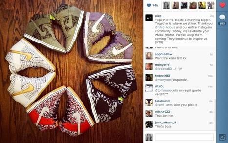 Nike Celebrates Instagram Milestones by Thanking Its Community | Tracking Transmedia | Scoop.it