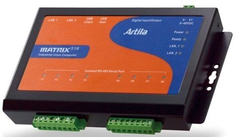 Artila Matrix-516 ARM9 Industrial Linux Computer Features 8 RS-485 Ports | Embedded Systems News | Scoop.it