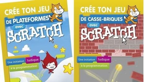 Comment créer ton jeu vidéo avec Scratch ? Deux livres t'expliquent tout - Geek Junior - | Ressources pour la Technologie au College | Scoop.it
