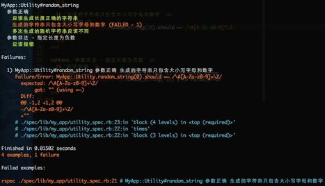 使用 rspec, capybara 和 zeus 等测试 rails 应用 - xhh's blog | Test | Scoop.it