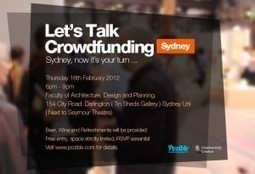 Sydney, now it's your turn…. Let's Talk Crowdfunding! | The Comprehensive CrowdFunding Community TM | Scoop.it