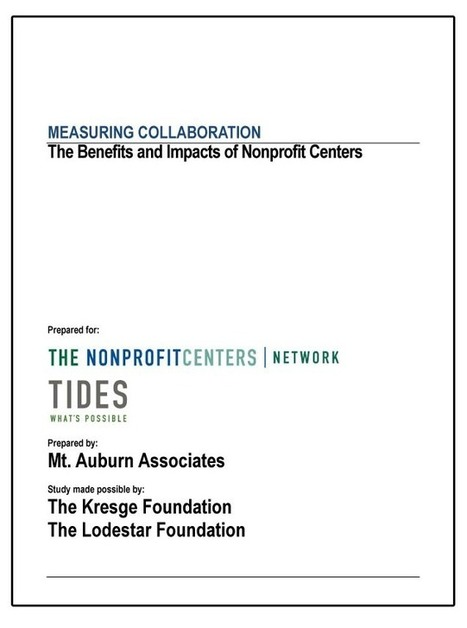 Research finds that sharing space does more than just trim costs for nonprofit organizations | News | The Kresge Foundation | Shared Space, Shared Resources, Strong Communities | Scoop.it