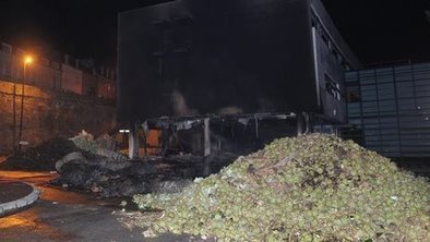 French farmers set fire to Brittany tax office as a protest against falling living standards | Totally Tax | Scoop.it