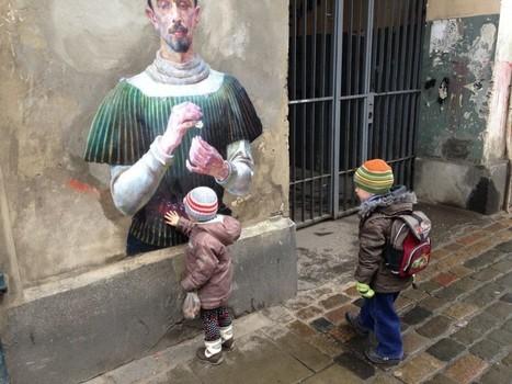 Outings Project : la nouvelle dimension du street-art - L'art s'échappe dans la rue grâce à Julien de Casabianca | World of Street & Outdoor Arts | Scoop.it