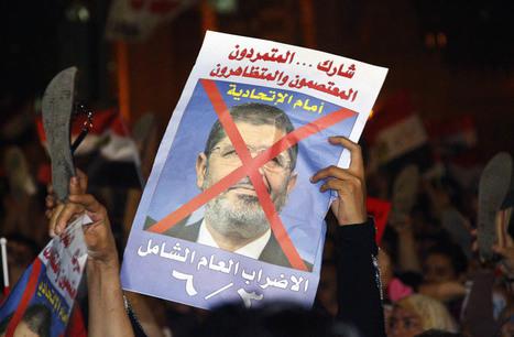 Diaporama : Place Tahrir pendant le discours de Morsi | Égypt-actus | Scoop.it