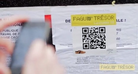 Les chasses au trésor 2.0, nouvelle forme de street marketing | La Netscouade | Roofsight | Scoop.it