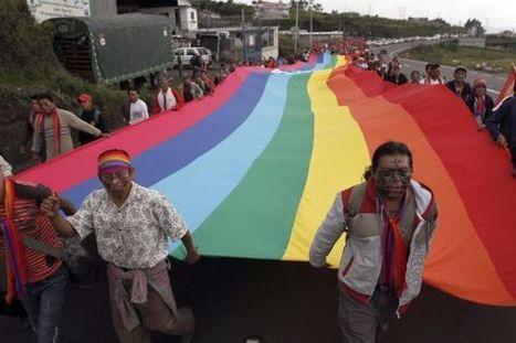 Los indígenas marchan sobre Quito en protesta por la política minera   Indigenas en Ecuador   Scoop.it