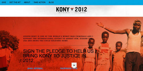 RDC - « Kony 2012 », la campagne qui bouscule la communication humanitaire - Direct.cd | Communication narrative & Storytelling | Scoop.it