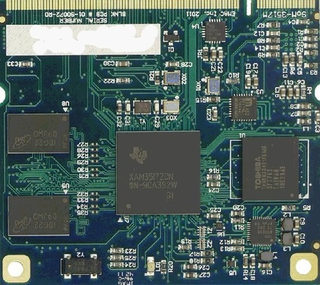 EMAC SOM-3517M: System-on-Module based on TI AM3517 | Embedded Systems News | Scoop.it