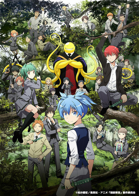 Avance De Los 3 últimos Episodios De Assassination Classroom | Noticias Anime [es] | Scoop.it