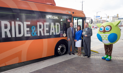 Ride & Read: programa que proporciona acceso a libros gratuitos en el transporte público | Libros electrónicos | Scoop.it