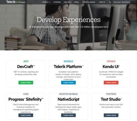 16 of the Best Website Homepage Design Examples | Content Marketing & Content Strategy | Scoop.it
