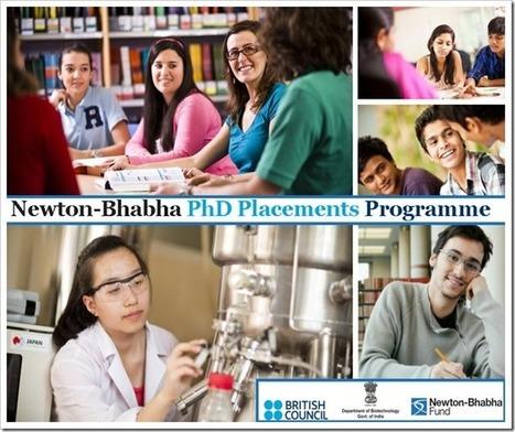 Newton Bhabha PhD Placement Programme 2016-17 | bioinforamtics | Scoop.it