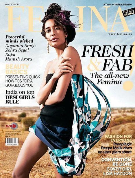 Lisa Haydon Covers Femina Magazine - Magazines Cover Girl | Magazines Cover Girl | Scoop.it