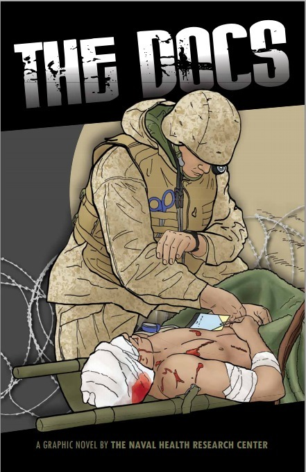 Navy Doc and Combat Psychologist Write Graphic Novel For Corpsmen | Geek Therapy | Scoop.it