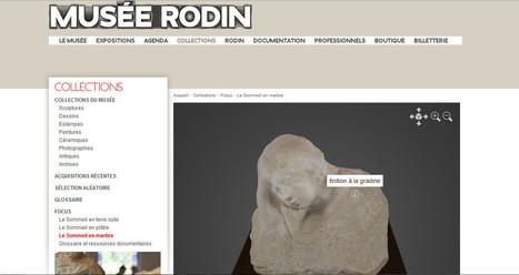 [IL Y A 3 ANS] Le musée Rodin numérise «le Sommeil» en 3D et le met en ligne sur Internet | Clic France | Scoop.it